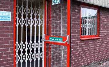 architectural steel doors, crowd control gates, steel doors