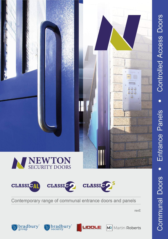 communal entrance doors, communal doors, steel doors